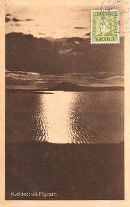 Iceland Kvoldsol vio Myvatn M. Jonsson Publisher Postcard