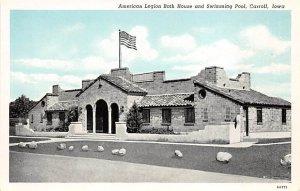 American Legion Bath House Swimming Pool Carroll, Iowa