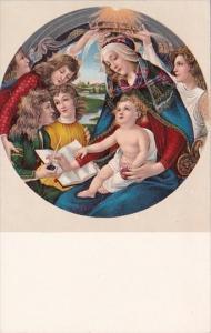 Botticelli Incoronazine Della Vergine Firenze