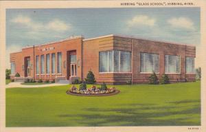 HIBBING, Minnesota, 1930-1940s; Hibbing Glass School (Exterior)