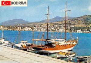 Turkey Bodrum boats, bateaux - Turkiye