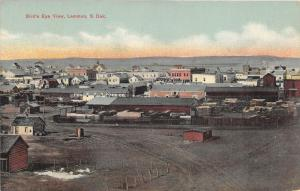 Lemmon South Dakota~Bird's Eye View~Central-Atlas Lumber Co~Homes~c1910 Postcard
