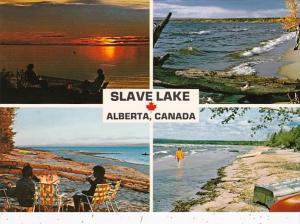 Canada Alberta Slave Lake Multi View Lesser Slave Lake Provincial Park