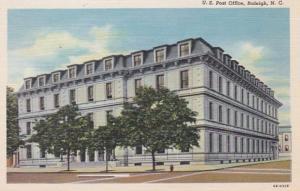 North Carolina Raleigh Mount Post Office Curteich