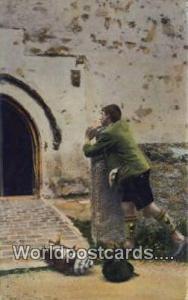 Germany, Deutschland Postcard Zieh Hinaus  Zieh Hinaus