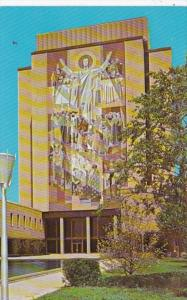Indiana Notre Dame Memorial Library Mural Christ The Teacher University Of No...