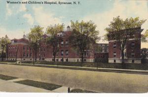 Women's And Children's Hospital, Syracuse, New York, 1900-1910s