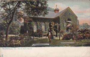 Old St Paul's Church Norfolk Virginia Tucks