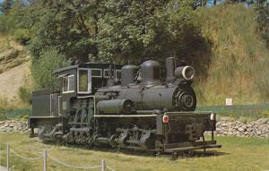 Ex Logging Engine, The Old Two Spot, Port Alberni, British Columbia, Canada...