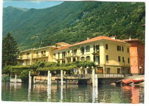 Italy, Hotel Stella d'Italia, S. Mamete, Como, Lago di Lugano 1990 used Postcard