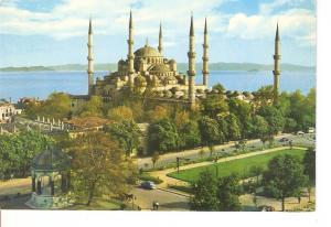 Postal 036737 : Sultan Ahmet Camii ve civari. The Blue Mosque. Istanbul - Turkey