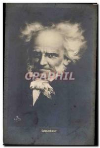Old Postcard Schopenhauer
