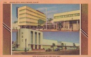 New Studios Of C B S And N B C Radio City Hollywood California