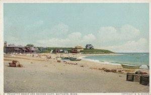SCITUATE , Massachusetts , 1910-20s; Peggotty Beach and Second Cliff