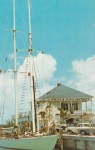 KEY WEST , Florida , 50-60s ; Tony's Fish Market