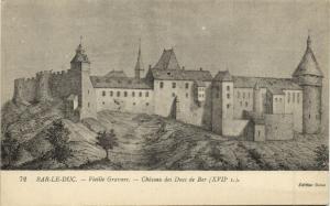 CPA Bar le DUC Vieille Gravure Chateau de Ducs de Bar (152292)
