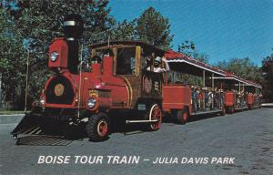 BOISE , Idaho, 1950-60s ; Miniature Train on tour