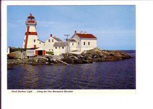 Head Harbour Lighthouse,  New Brunswick,