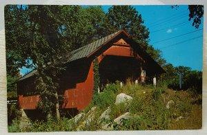 Creamery Bridge West Brattleboro Vermont Vintage Postcard