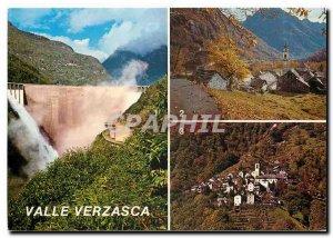 Postcard Modern Verzasca Sonogno