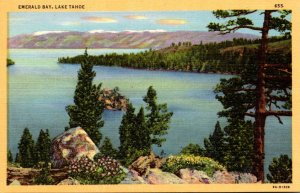 California Lake Tahoe Emerald Bay