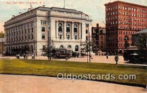 Providence, RI, USA Postcard New Post Office