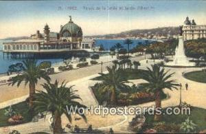 Nice, France, Carte, Postcard Palais de la Jetee et Jardin Albert  Palais de ...