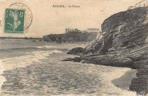 Ghana Gold Coast Accra La Falaise postcard