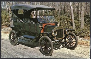 Classic Car Postcard 1913 FORD Model T Touring Car A Beautiful early T