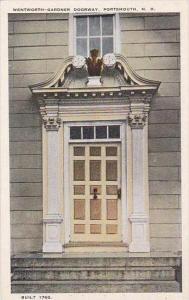 New Hamphire Wentworth Sandner Doorway
