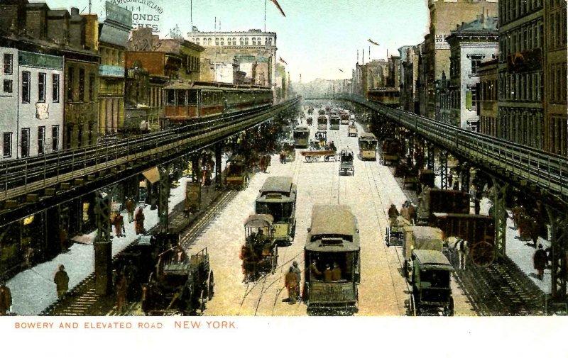 NY - New York City. The Bowery