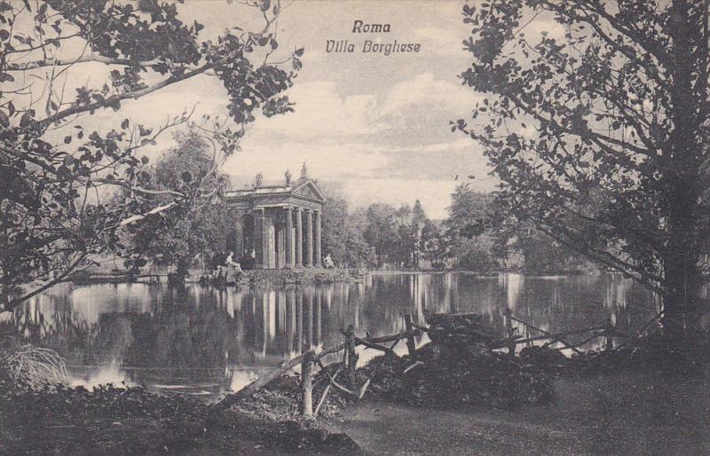 Villa Borghese, ROMA (Lazio), Italy, 1900-1910s