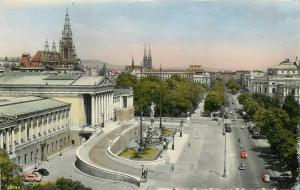 Austria Vienna semi-modern postcard