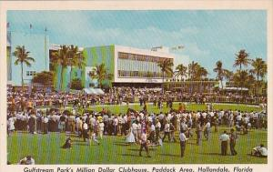 Florida Hallandale Gulfstream Parks Million Dollar Clubhouse Paddock Area