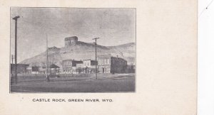 GREEN RIVER , Wyoming ,1901-07 ; Town & Castle Rock