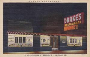 Illinois Chicago Drake's Restaurant & Lounge Curteich
