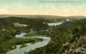 CT - New Haven - Whitney Lake from East Rock
