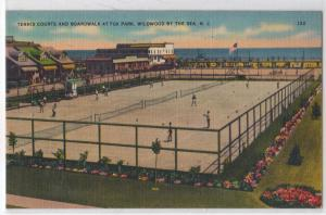 Tennis Courts, Wildwood-by-the-Sea, NJ