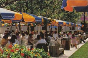 Missouri Kansas City Crown Center Urban Complex Outdoor Cafe At The Square