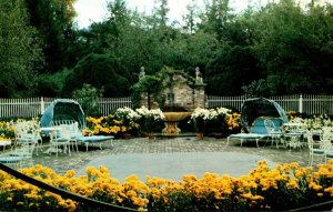 West Virginia White Sulphur Springs The Greenbrier Old White Club Patio