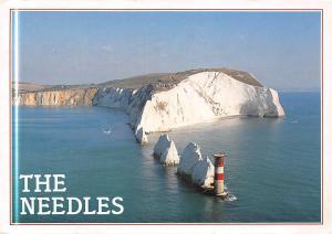 The Needles Isle of Wight Lighthouse Cliff Leuchtturm