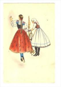 Girls spin thread, Marburg/Drau , Germany , PU-1944
