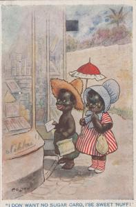 F.G. LEWIN: I Don' Want No Sugar Card, I'se Sweet 'Nuff!, 1919