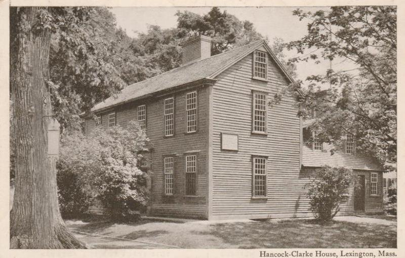 Hancock-Clarke House - Lexington MA, Massachusetts - WB