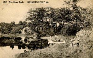 ME - Kennebunkport. Near Sunset Rock