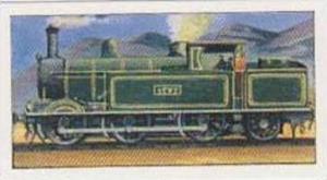 Glengettie Tea Vintage Trade Card History Of The Railways No 23 Tank Locomotive