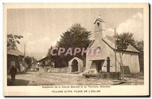 Old Postcard Exhibition of Coal Bianche and Grenoble Tourism Alpine Village S...