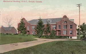 GUELPH , Ontario , Canada , 00-10s ; Mechanical Building , O.A.C.