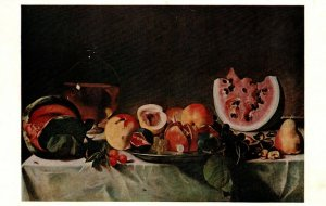 Washington DC National Gallery Of Art Still Life By Caravaggio Postcard