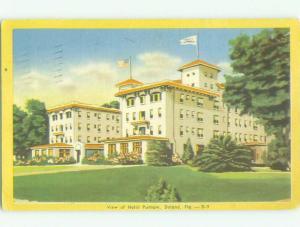 Linen PUTNAM HOTEL Deland Florida FL HQ3714